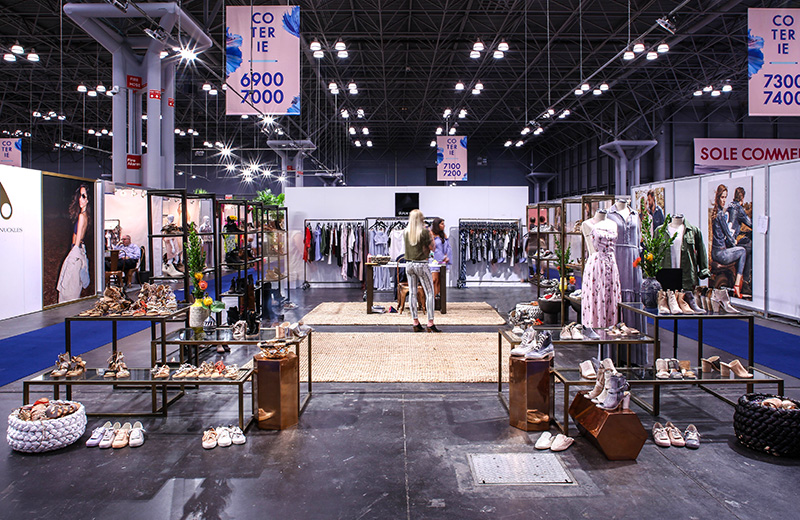 Coterie september 2021, fashion trade shows 2021, coterie exhibitor list, trade show booths and services, custom trade show booth, booth design, clothing