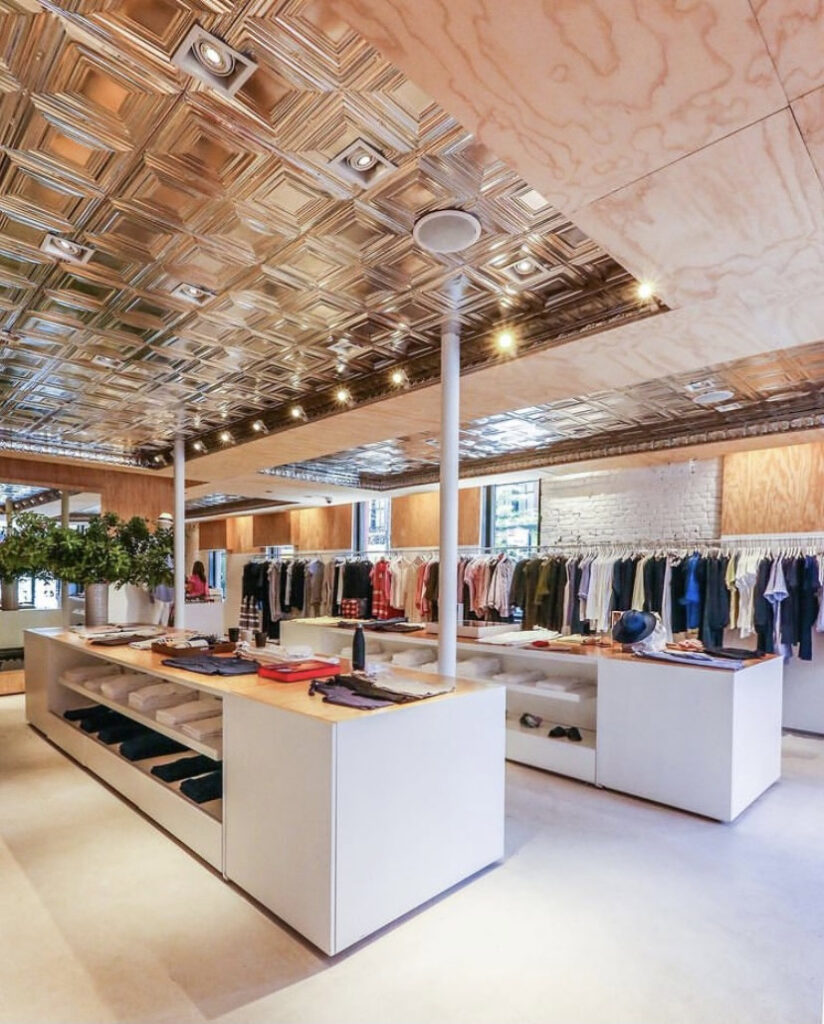 Retail space planning tips, store space planning, commercial interior design styles, floor plan, retail displays, architecture